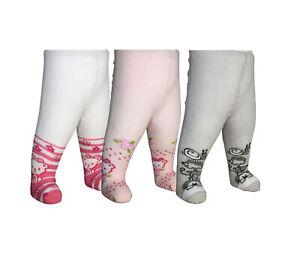 Strumpfhosen für Mädchen Baby Größe 56-62 Muster Tiermotive