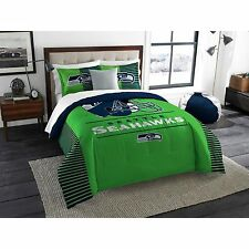 SEATTLE SEAHAWKS Comforter Set King 3pc NFL Team Draft Licensed Bedding Shams