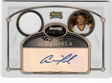 ANDRE IGUODALA 07 BOWMAN STERLING AUTO AUTOGRAPH JERSEY REFRACTOR CARD #77/199!