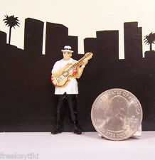 Lil Boricuas Puerto Rico Ricans Homies Figure Figurine Diorama Musician Guitar