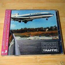 Pinko Pinko - Traffic JAPAN CD+1Bonus W/OBI Mint #07-3