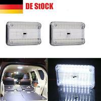 2 STÜCKE 36 LED Auto Leselampe Dach Licht Innenbeleuchtung Stamm Auto Licht DE