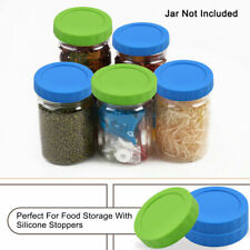 Colored Plastic Mason Jar Lids for Wide Mouth Mason Canning Jars Cup Replacement