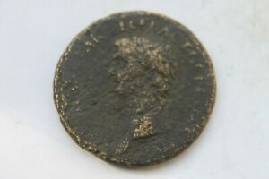 Rare Roman Claudius Sestertius/AE31 1st century AD 12 Caesars