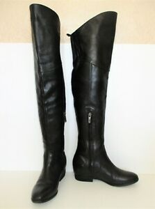 Belle Sigerson Morrison Over The Knee Boots 6B women black leather
