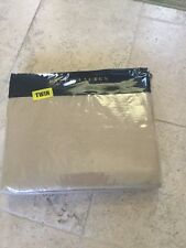 NEW RALPH LAUREN PALMER PERCALE BURNISHED CHAMOIS TWIN COTTON BED  BLANKET
