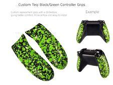 Controlador Personalizado Verde Xbox One Zombie apretones de Repuesto 3D Trasero Manijas/panel