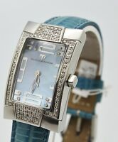 MONTRE TECHNO MARINE FEMME QUARTZ DIAMANTS VÉRITABLES  *