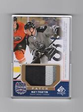 2014-15 SP Game Used Matt Fraction Stadium Series 3 Color Patch #SS-MF   08/99