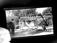 10s 20s Photo Negative Decorated Airplane KANSAS ks plane memorial