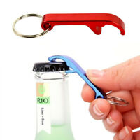 1/10 Pcs Metal Bottle Opener Key Ring Chain Keyring Keychain Beer Bar Tool Claw