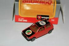 Fiat Uno PG Food Services Bburago 1:43 Made in Italy Only One Limited Edition