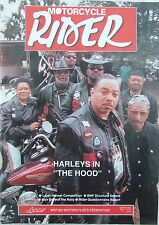 MOTORCYCLE RIDER MAR/APR 1996 DAYTONA BIKE WEEK LAZER HELMET DSA ON DIRECT ACCES