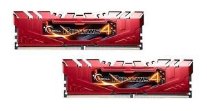 16GB G.Skill Ripjaws 4 DDR4 2400MHz PC4-19200 CL15 Dual Channel kit (2x8GB) Red