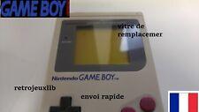 vitre game boy fat premiere génération identique a l'original