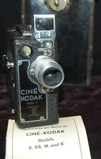 16mm Cine Kodak Model K Movie Camera, 25/1.9 f Anastigmat Lens & Case [S7125]