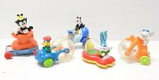 Goof Troop Lot of 4 Disney 1992 Burger King Happy Meal Toy Goofy Max TV Show