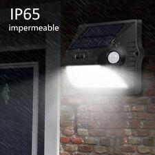 12 LED Energía Solar PIR Sensor de Movimiento Luz de Pared Lámpara de jardín