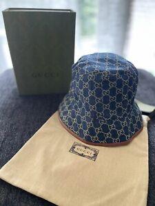 Gucci Sapphire/Dark Brown Bucket Hat