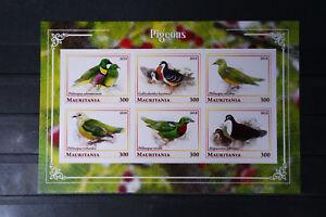 Vögel 005 birds oiseaux Tauben Pignons Tiere animals Fauna postfrisch ** MNH