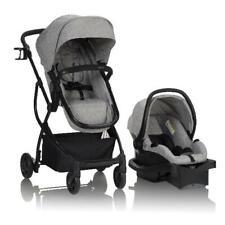 Evenflo Urbini Modular Travel System With LiteMax/Infant car seat, Heather Grey