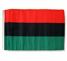 """12x18 12""""x18"""" Africa African Afro - American Sleeve Flag Boat Car Garden"""