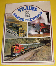 Trains Around The World 1973 Octopus Books Great Pictures! Nice See!
