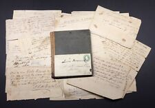 WV HISTORY NELSON B COLEMAN CO., CHARLESTON, VA. HISTORY 1830s Ledger Bk w/IOUs
