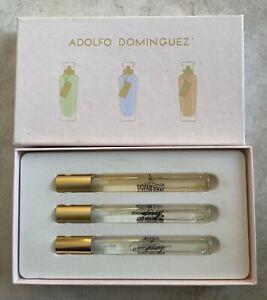 Adolfo Dominguez Collection Eau De Toilette Natural Spray Set Azahar, Rosas Blan