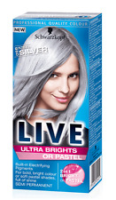 Schwarzkopf Live Semi Permanent Color XXL Ultra Brights 98 Steel Silver