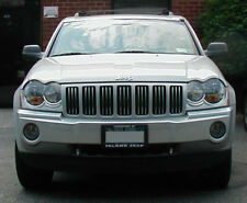 JEEP GRAND CHEROKEE CHROME GRILL TRIM 05 06 07 08 09 10