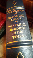 SHADOW OF BLOOMING GROVE Warren G Harding Easton Press Leather Lib of Presidents