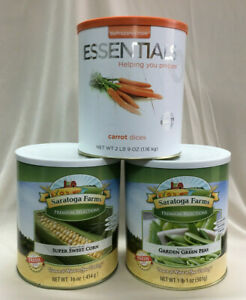 Emergency Essentials 3 Cans Vegetables ~ Emergency Food ~ The Wise Prep