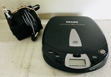 Philips AZ 7267 - CD Walkman Portable CD music player + power adapter WORKING