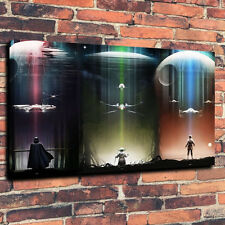 Unframed Art Canvas Print Star Wars TIE Fighter Artwork Fantasy Home Decor 12x18