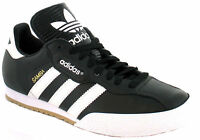 New Adidas Samba Super Mens Original Black Leather Trainers UK Sizes  7 - 11