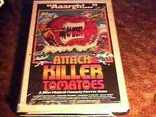 ATTACK OF KILLER TOMATOES ROLLED 27X41 MOVIE POSTER '78