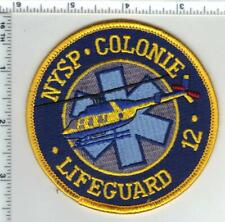 New York State Police 1st Issue Lifeguard 12 Colonie Shoulder Patch