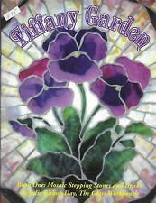 Tiffany Garden Book 1 Stained Glass Mosaic Stepping Stones & Bricks Julie Bishop