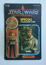 1984 Star Wars POTF Luke Skywalker Battle Poncho Vintage Kenner MOC Unpunched