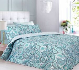 Printed Duvet Cover Sets With Pillow Cases Single Double King Finest Quality