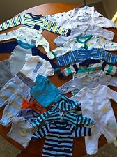Newborn Baby Boy Clothes Lot 22pc. CARTERS fall/winter NEW