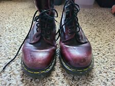Vintage Doc Martens Oxblood Air Wair size 9 boots men's 8 hole