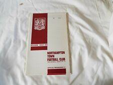 NORTHAMPTON TOWN FOOTBALL CLUB 1967-68 No 394