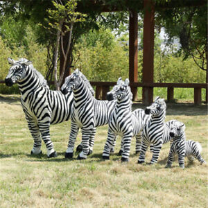 Giant Big hung Zebra Plush Stuffed Simulated Toy Ridable Doll home decorate gift