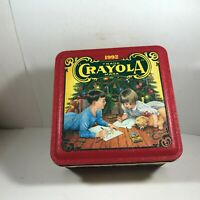 Collectors Tin Crayola Holiday Tin 1992