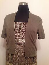 Size 14/16 Cover Top Lane Bryant Olive Knit