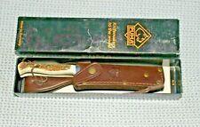 Puma Handmade Skinner Fixed Blade Knife STAG 11 6393  GERMANY