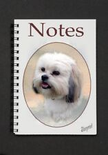 Lhasa Apso Dog Notebook/Notepad with a small image on every page - by Starprint