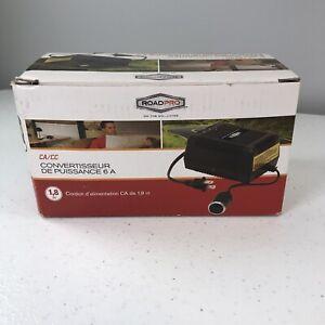 RoadPro AC/DC 6 AMP Power Converter(RPSL-7000) NEW Open Box. C1